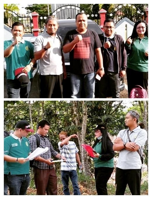 Pelaksanaan Pemeriksaan Setempat di Kampung Besiq
