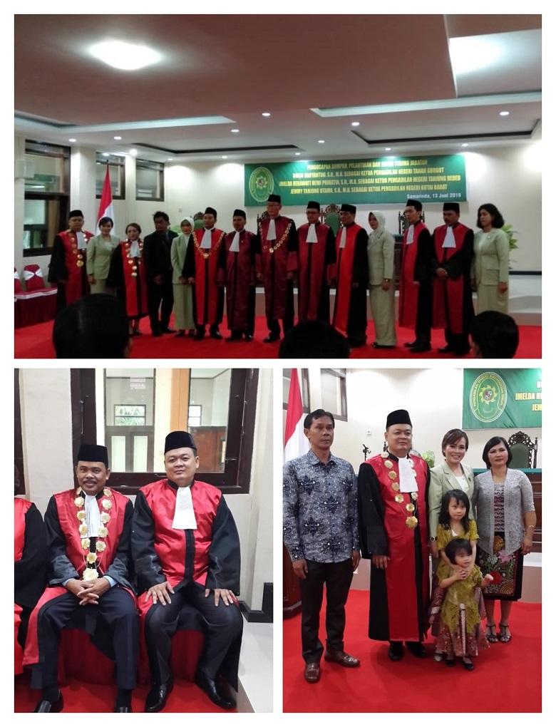 Pelantikan Bapak Jemmy Tanjung S.H., M.H Sebagai Ketua Pengadilan Negeri Kutai Barat Kelas II