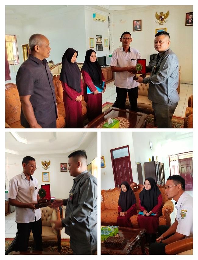 Pelepasan Siswi PKL di Pengadilan Negeri Kutai Barat