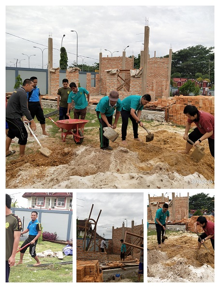 Pembangunan Musholla Al Ikhlas di Pengadilan Negeri Kutai Barat Kelas II