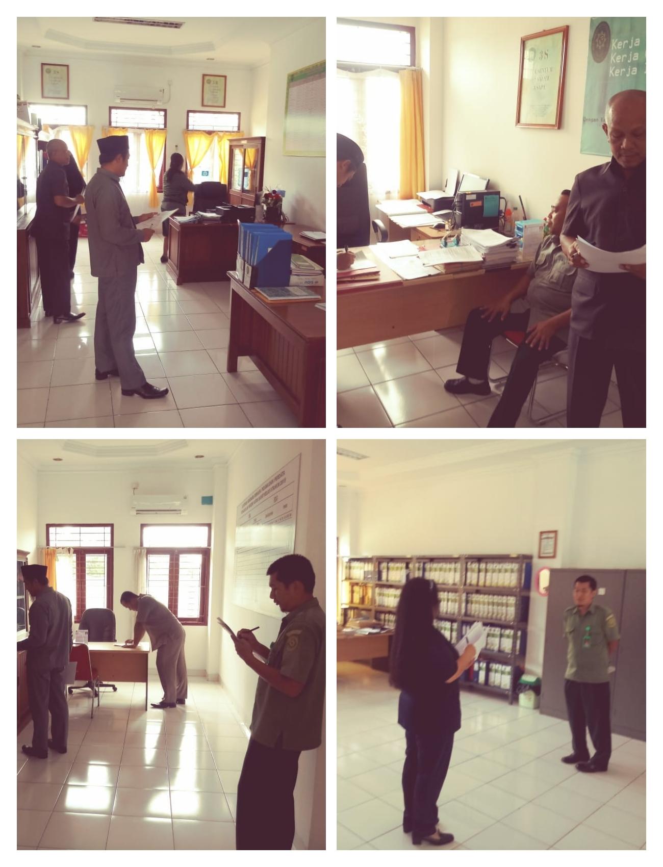 Penilaian Ruangan Terbaik di Pengadilan Negeri Kutai Barat