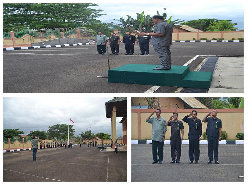 Upacara Peringatan Hari Lahir Pancasila di Pengadilan Negeri Kutai Barat